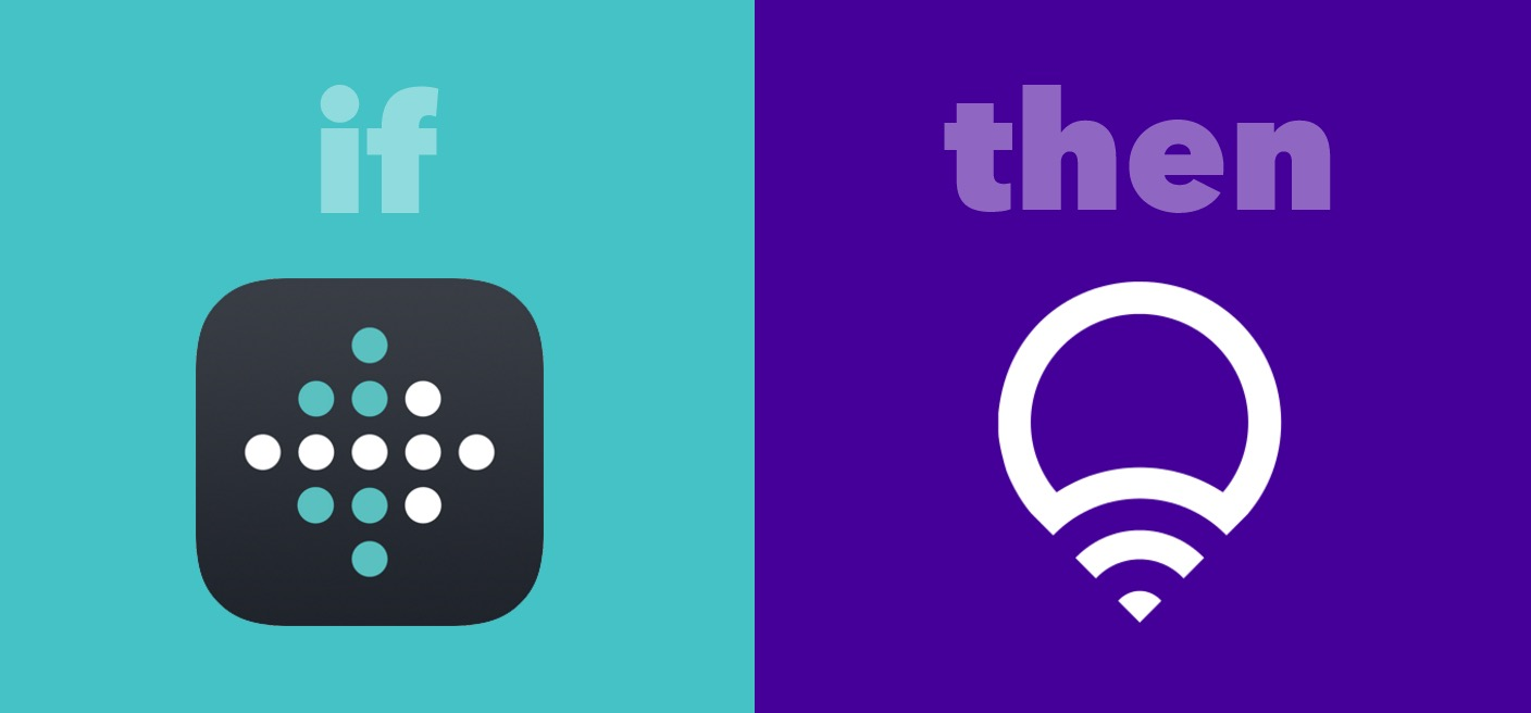 IFTTT Recipe: Turn on lights after I wake up connects fitbit to lifx