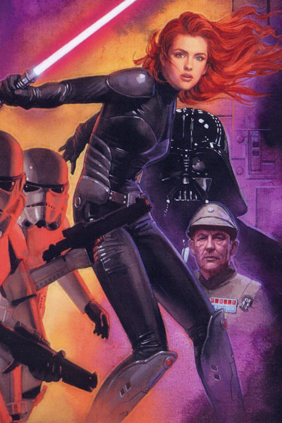 """Red-headed fan-favorite Mara Jade was once an assassin of the Empire's dark overlord comics and books. But what would she be in a """"Star Wars"""" movie?"""