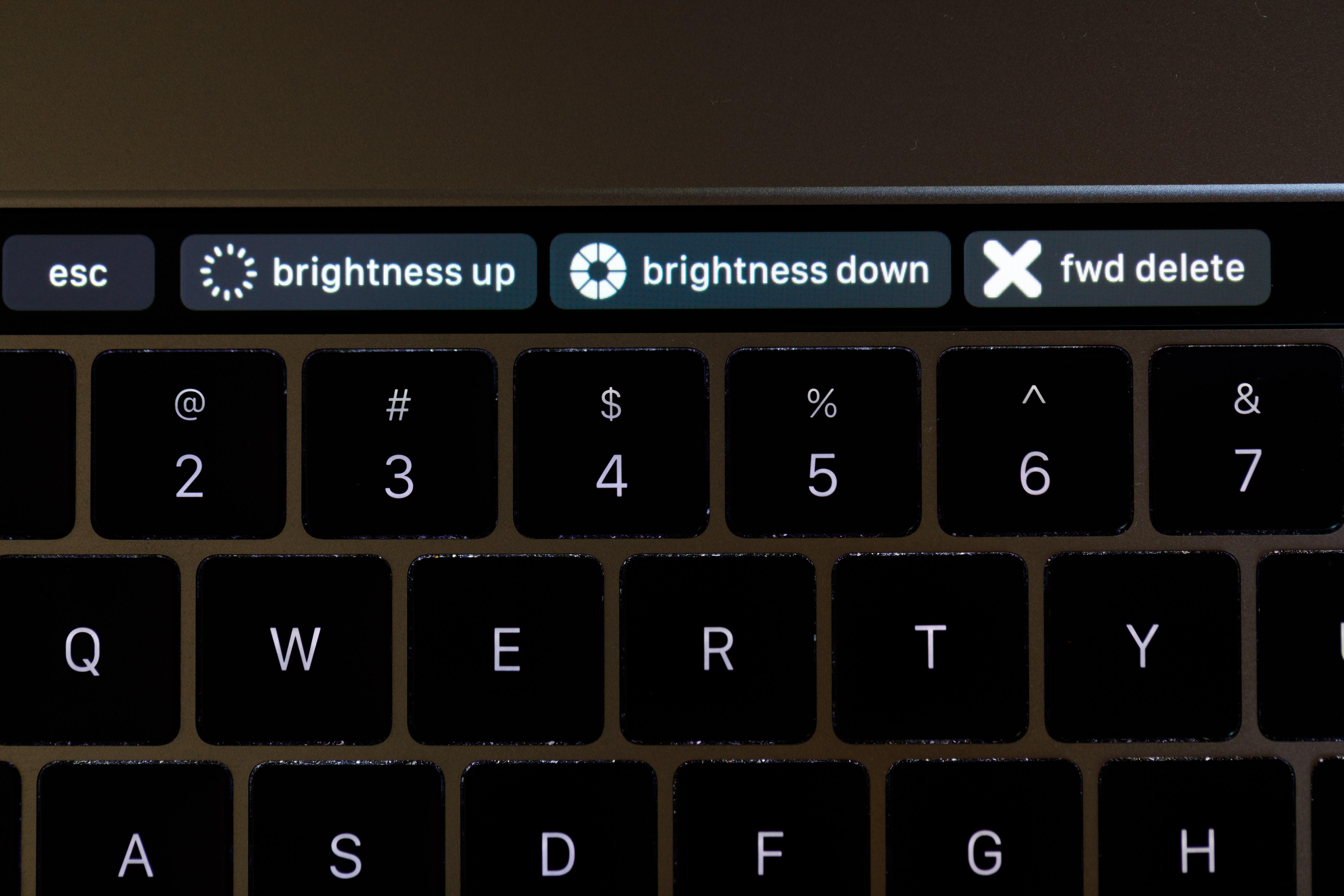 BetterTouchTool Touch Bar customization