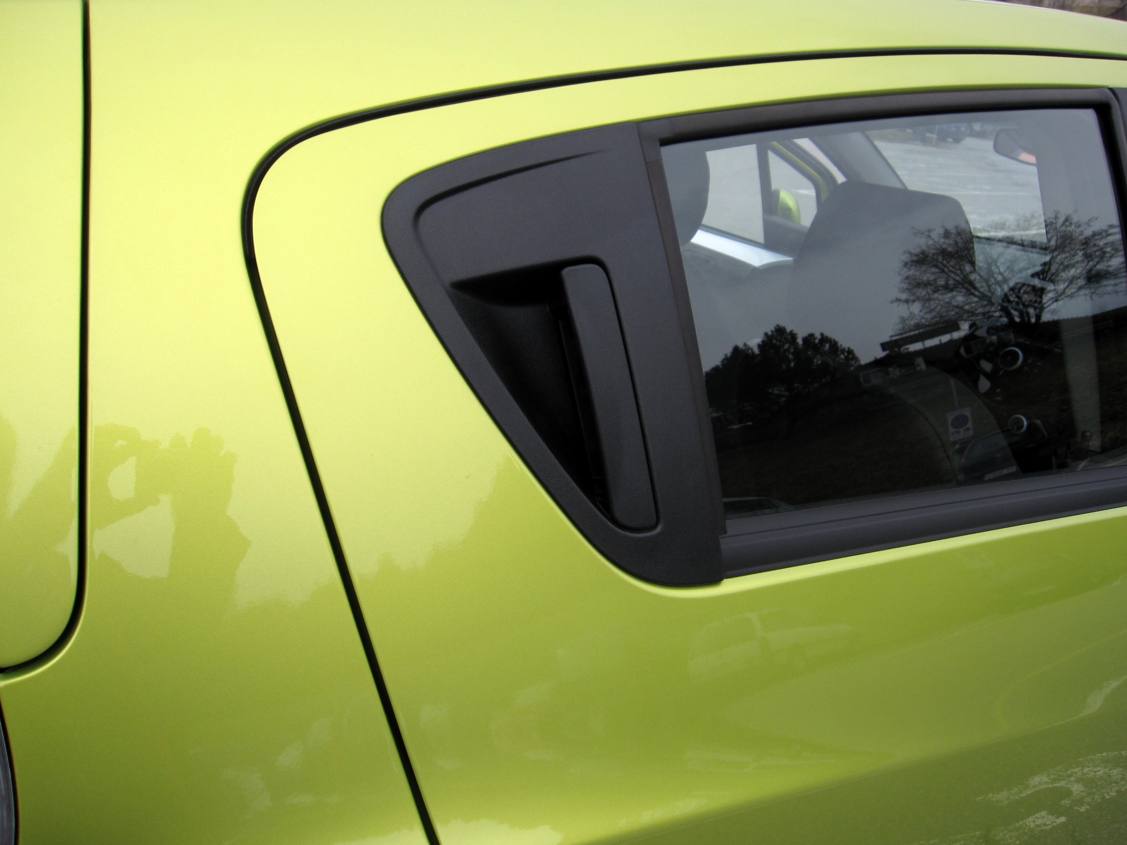 Chevy Spark door handles
