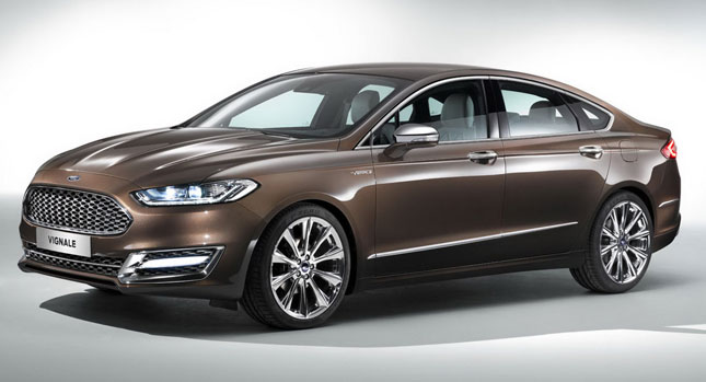 Mondeo Vignale is Lincoln luxury with a Ford face