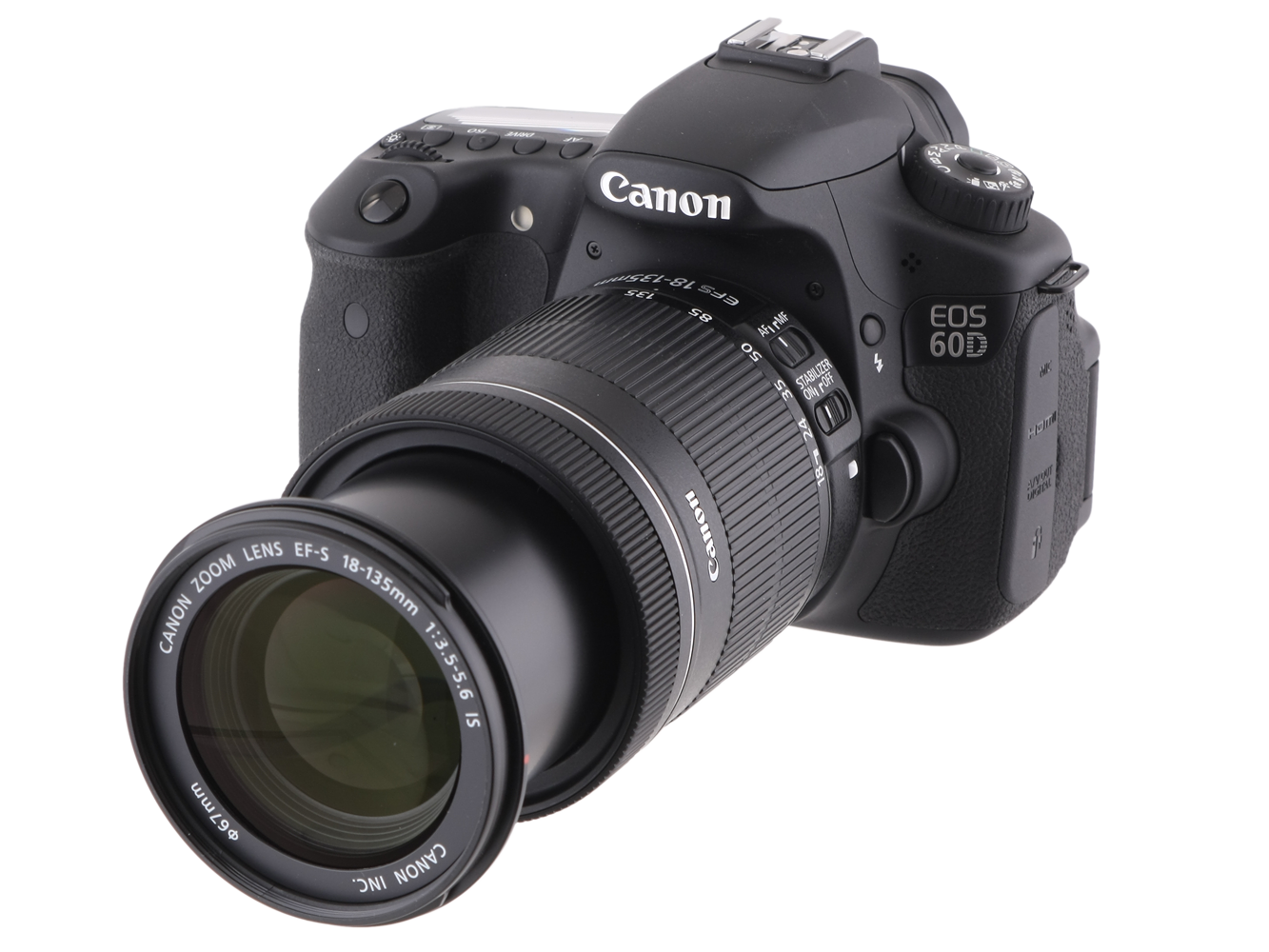 Canon EOS 60D (with 18-135mm lens)