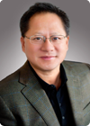 Chief executive of Nvidia, Jen-Hsun Huang