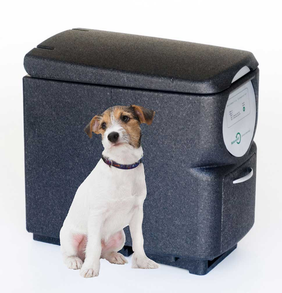 NatureMill pet-friendly composter
