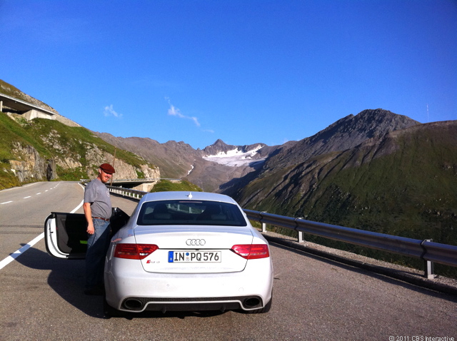 RS 5 and the glacier