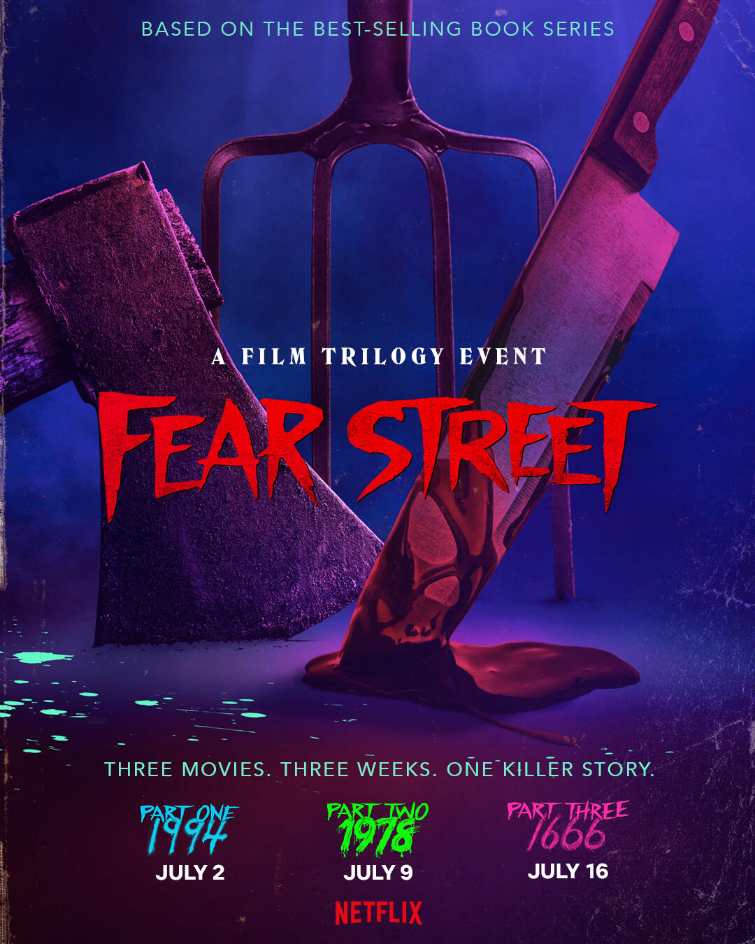 Fear Street horror movie trilogy is coming to Netflix in July