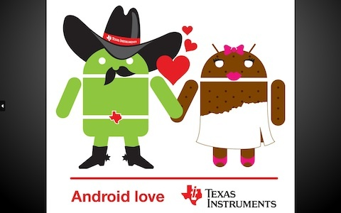 Texas Instruments and Google are pairing up for upcoming devices running Android Ice Cream Sandwich on top of TI processors.