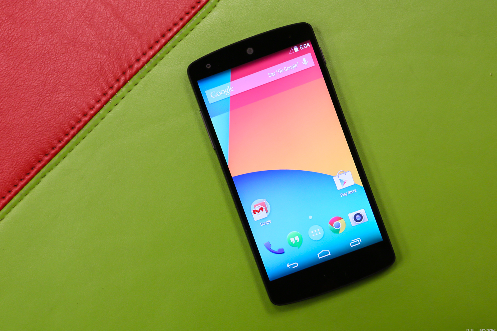 The LG-built Google Nexus 5 is the debut phone for Android 4.4, aka KitKat, which brings new Web standards to software programmers.