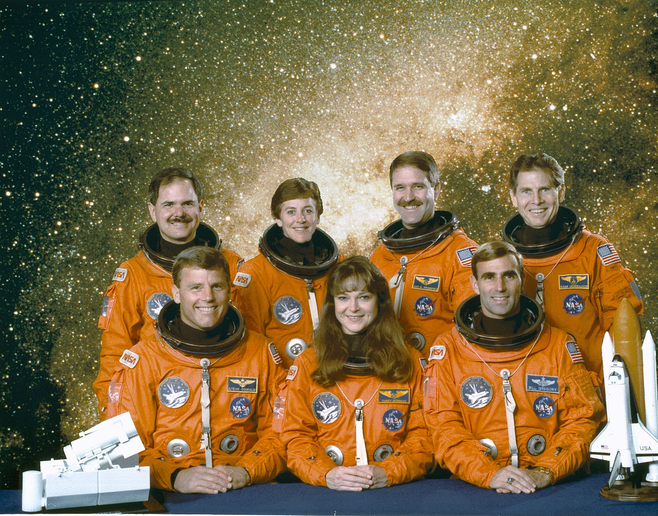 1995: 13 people in space