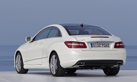 Tasty new E-Class Coupe.