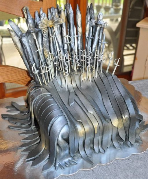Gams of Thrones cake