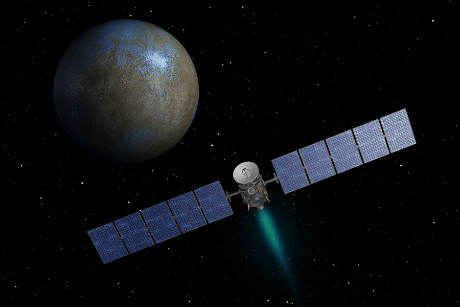 Ceres and the asteroid belt