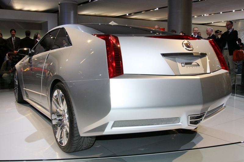 Cadillac CTS Coupe Concept rear