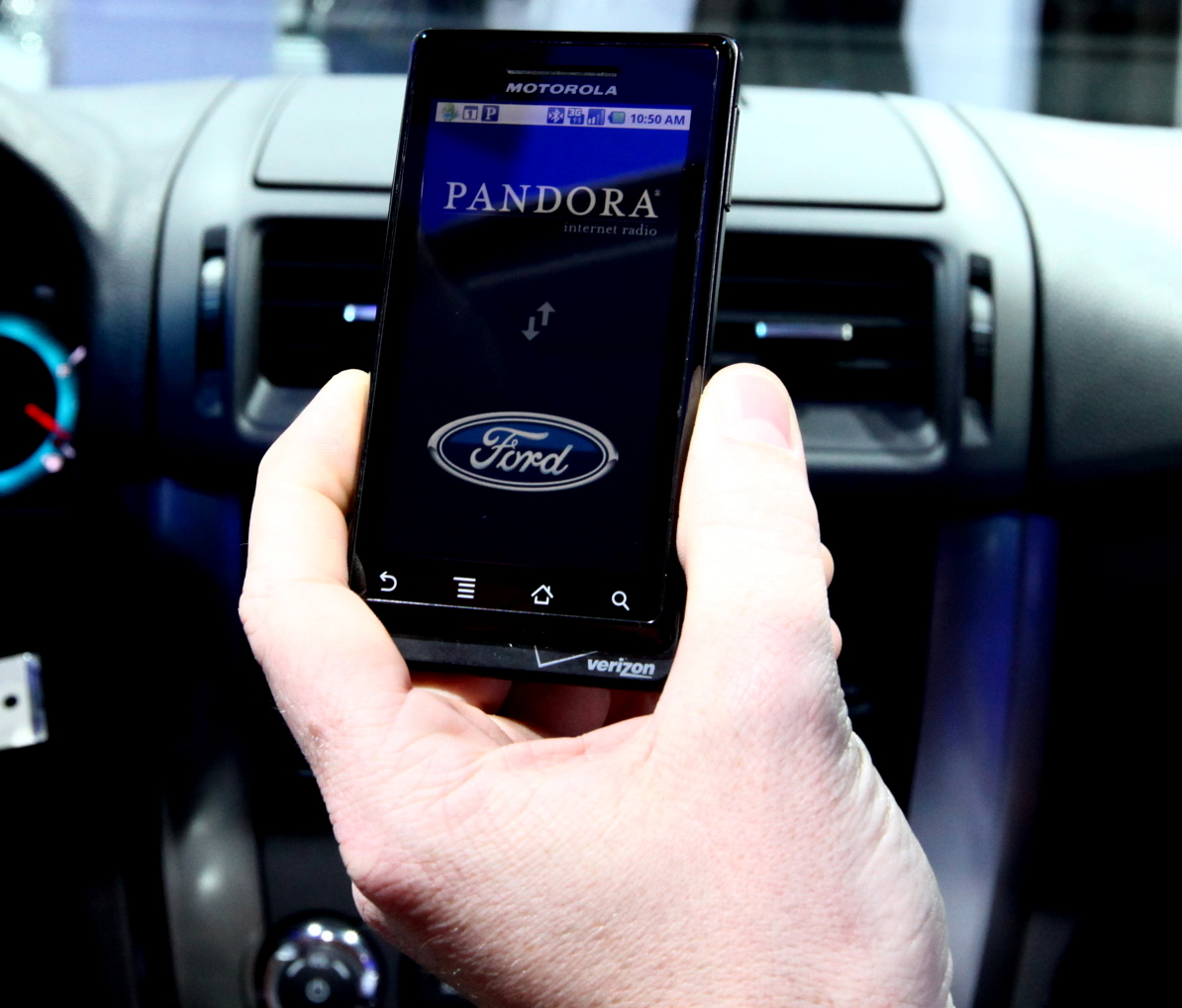 Ford Sync Mobile App service
