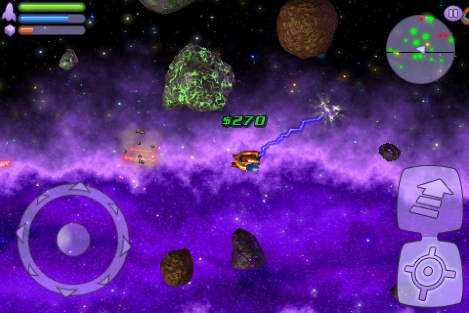 Space Miner: Space Ore Bust (CNET 100: iPhone Apps)