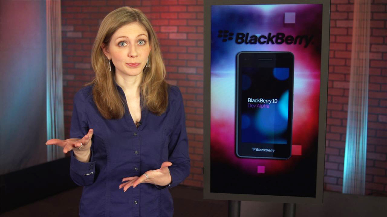 Video: Get touchy with BlackBerry 10