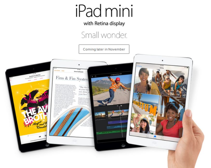 The new iPad Mini has a maxi-size starting price of $399. Seriously, Apple?