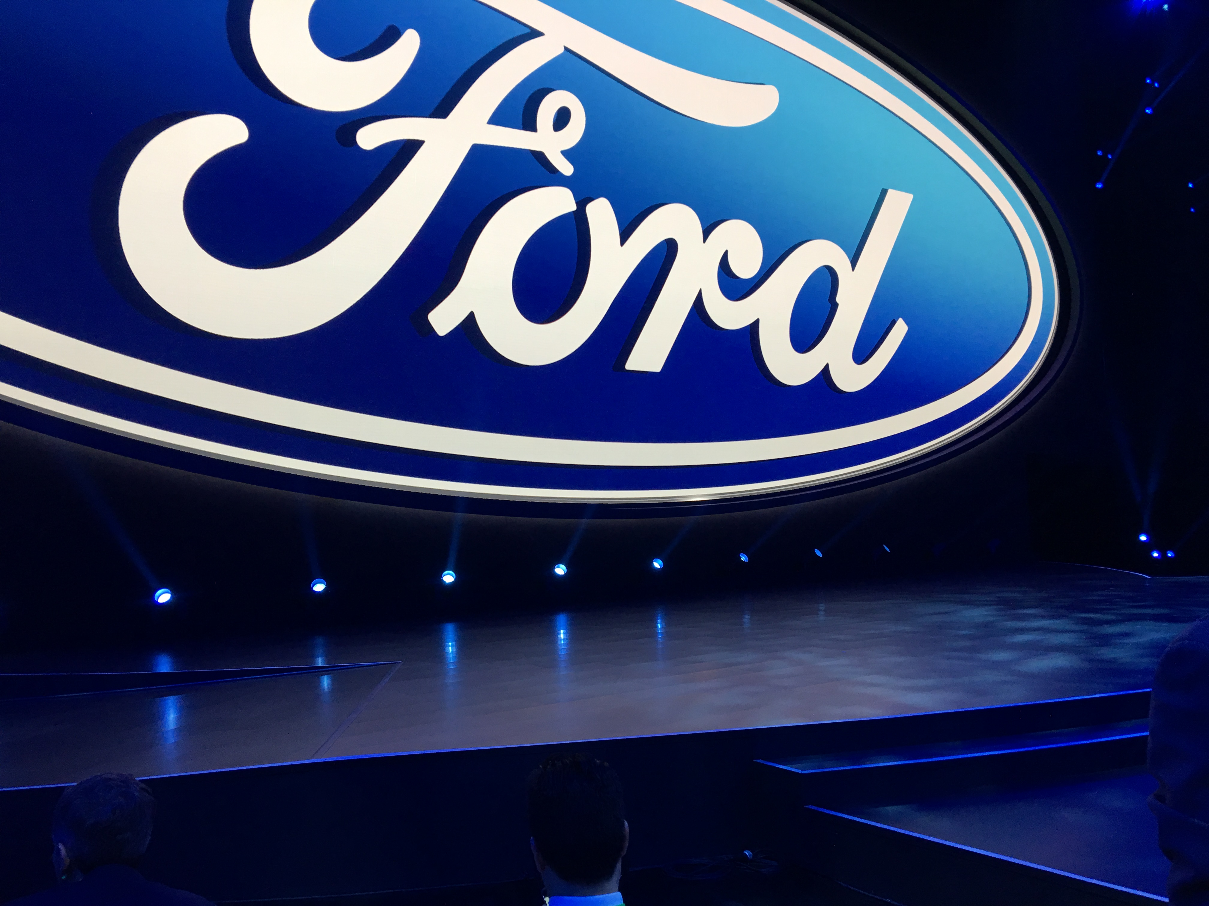 Ford's empty stage