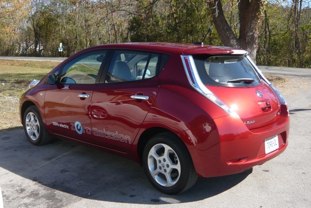 Driving the 2011 Nissan Leaf is surprisingly similar to other compacts and midsize cars--except for the 100-mile range limitation.