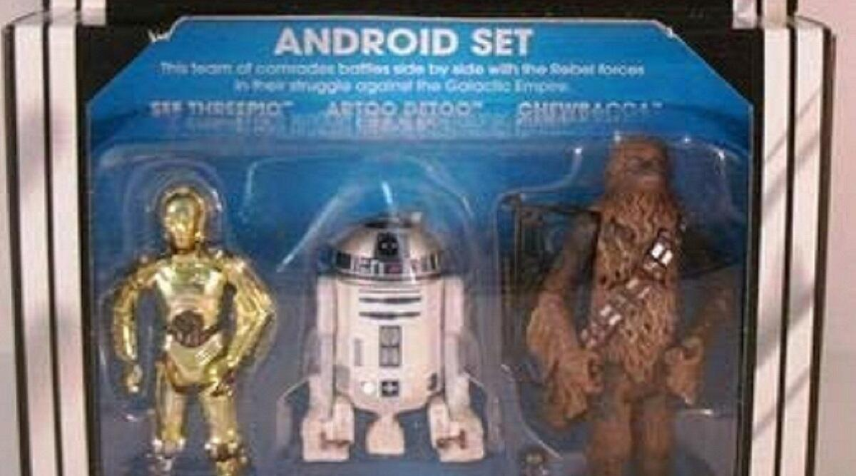 Kenner Star Wars special exclusive android action figure 3-pack