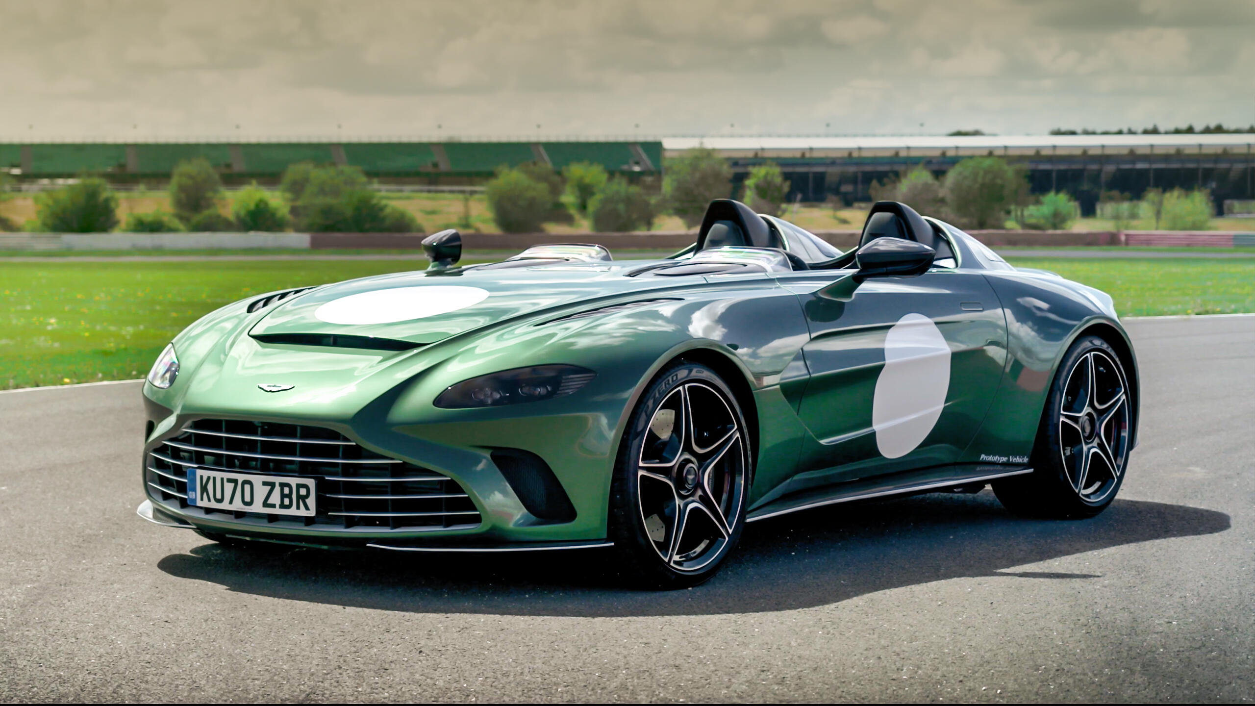 Video: The Aston Martin V12 Speedster is the coolest way to get flies in your face