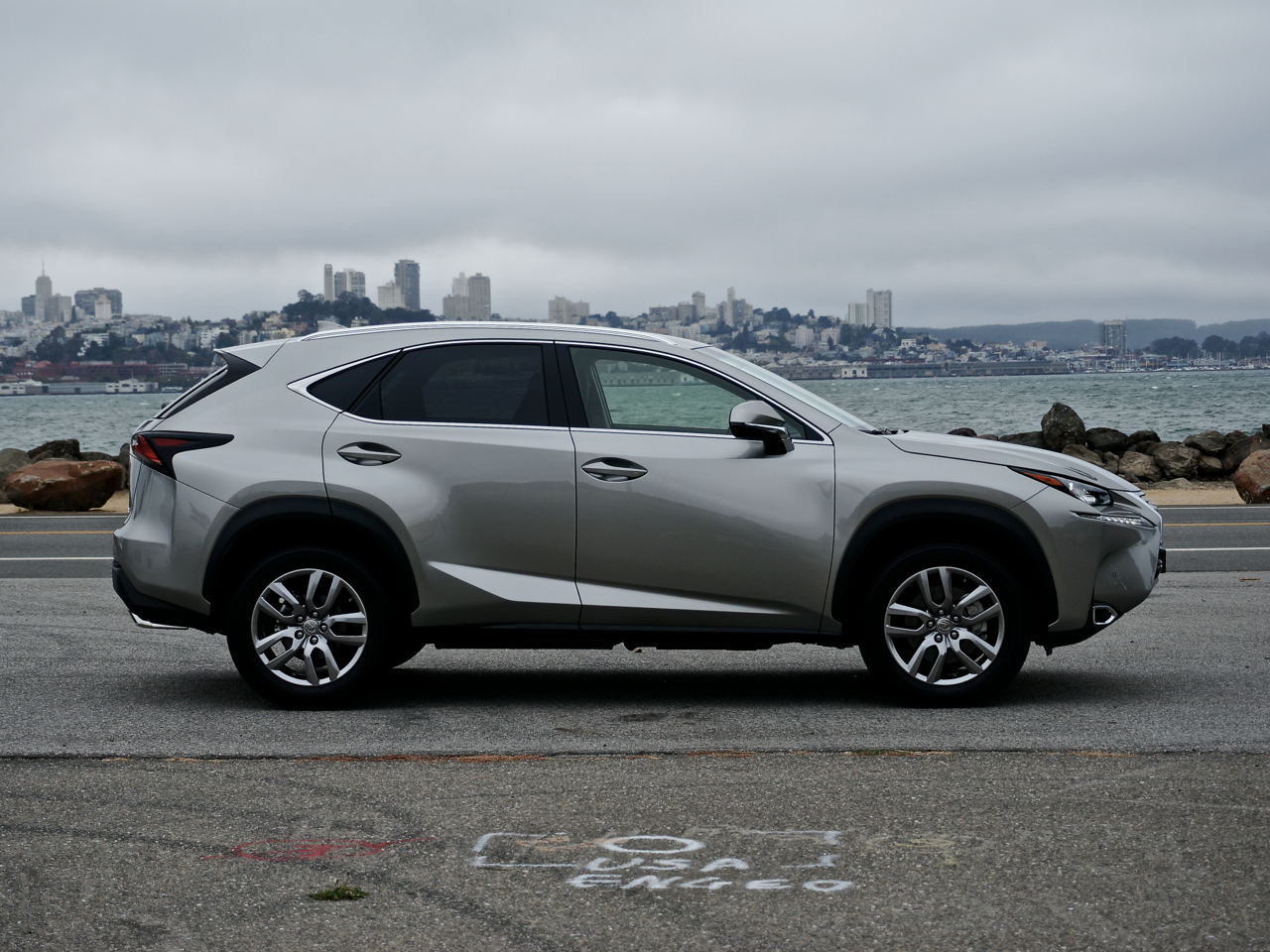 With a touchpad and a turbo, the NX 200t is like no Lexus before