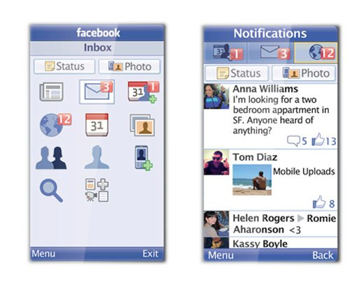 Facebook's new Every Phone application.