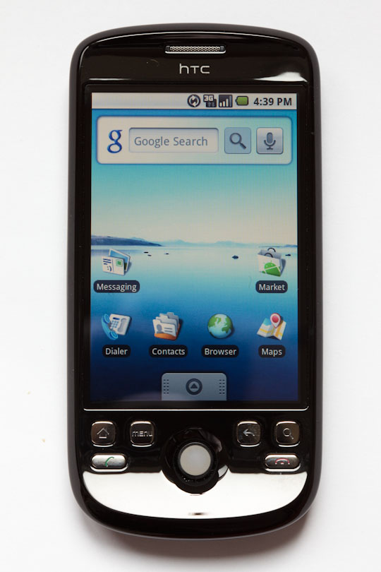 The Google Ion phone from 2009, while imperfect and a couple steps behind the iPhone, mostly gets the job done when it comes to Net-enabled smartphone use.