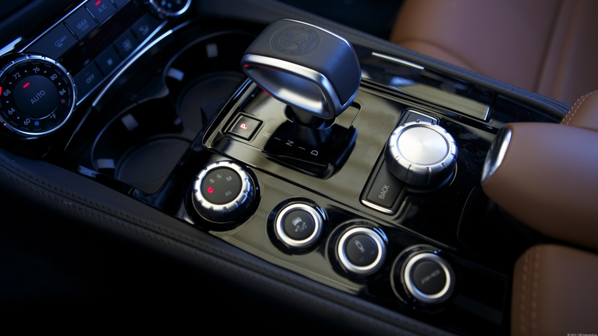 shifter and buttons