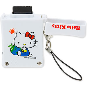 Hello Kitty solar phone charger