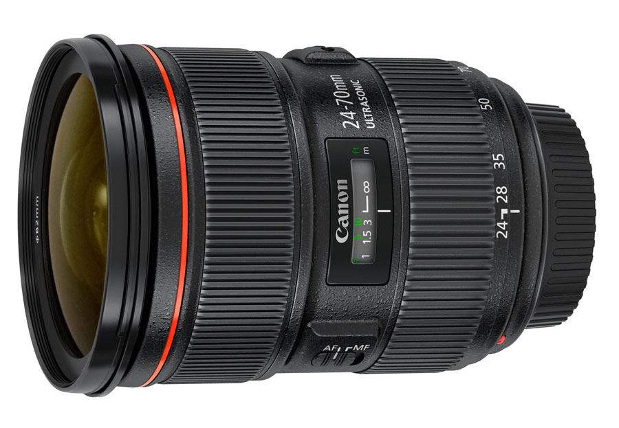 Canon's EF 24-70mm f/2.8L II USM lens will cost about $2,300.