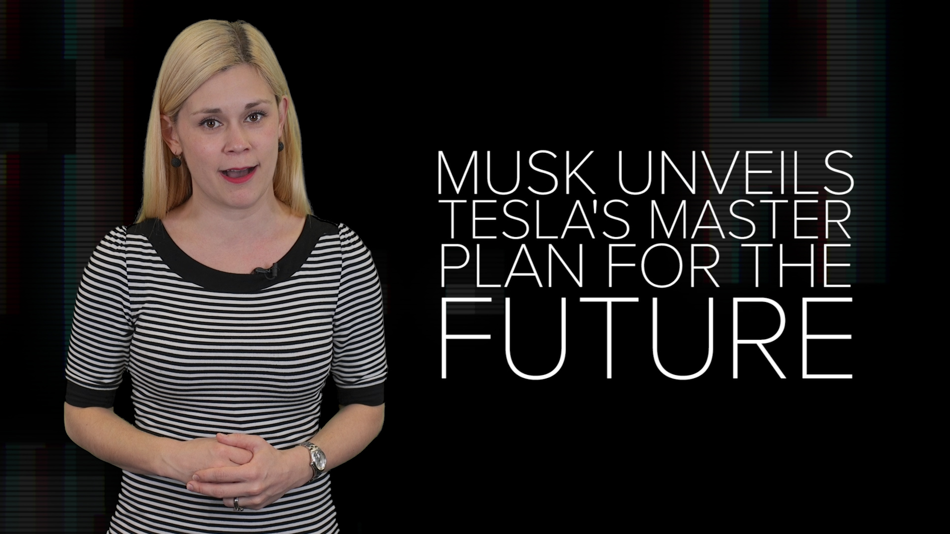 Video: Elon Musk unveils Tesla's master plan for the future