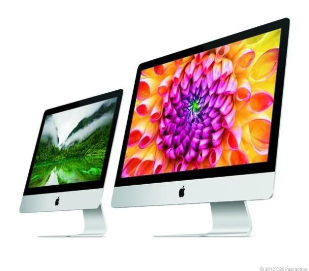 The 21.5-inch and 27-inch iMac.