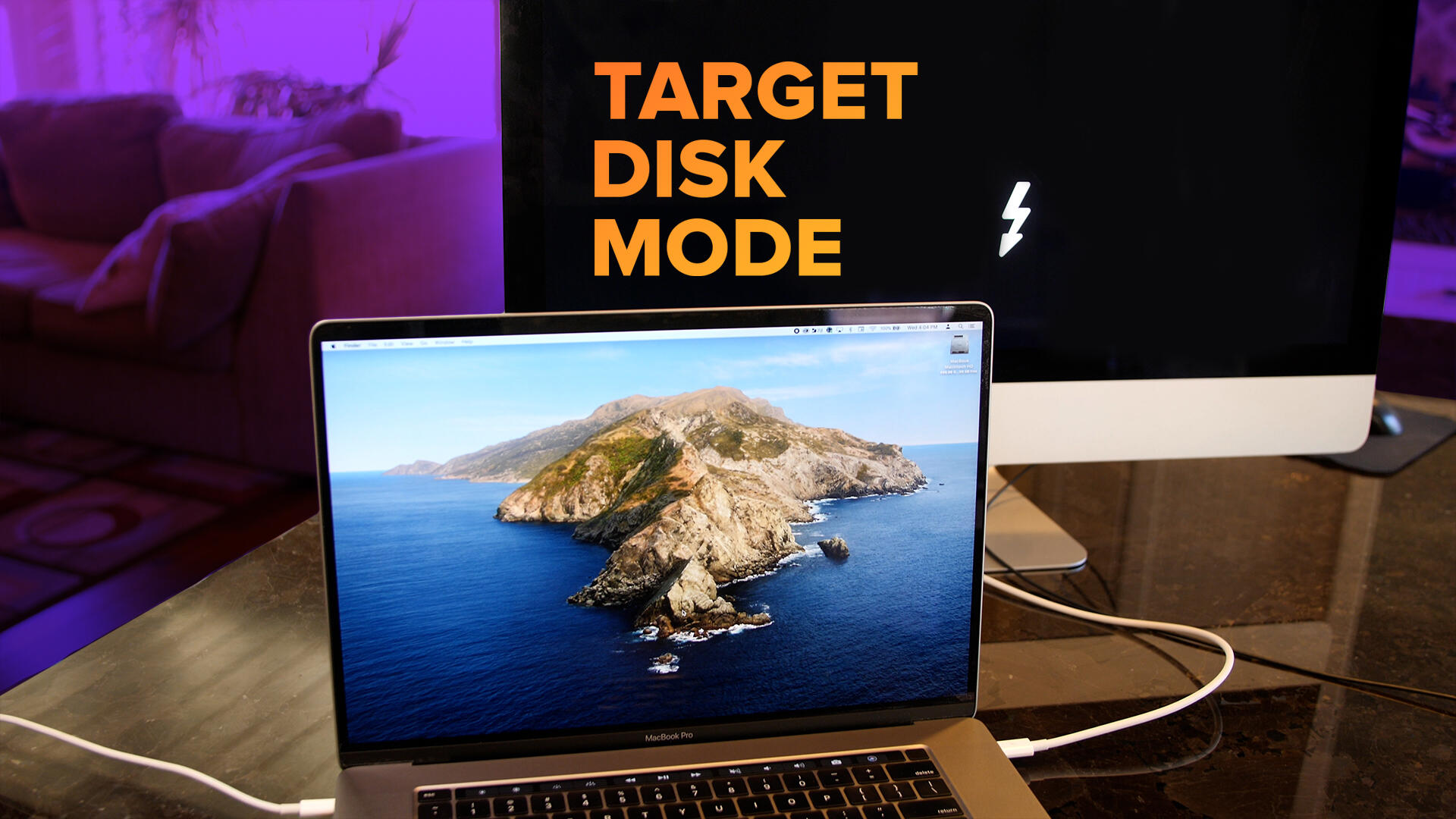 Video: Apple's Target Disk Mode: How to turn a Mac into an external hard drive