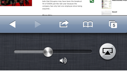 AirPlay control