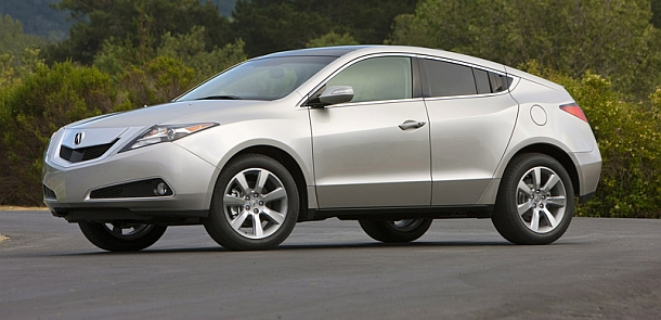 What do you get when you cross an Acura RL sedan with the MDX SUV? A four-door sports coupe! Wait, what?