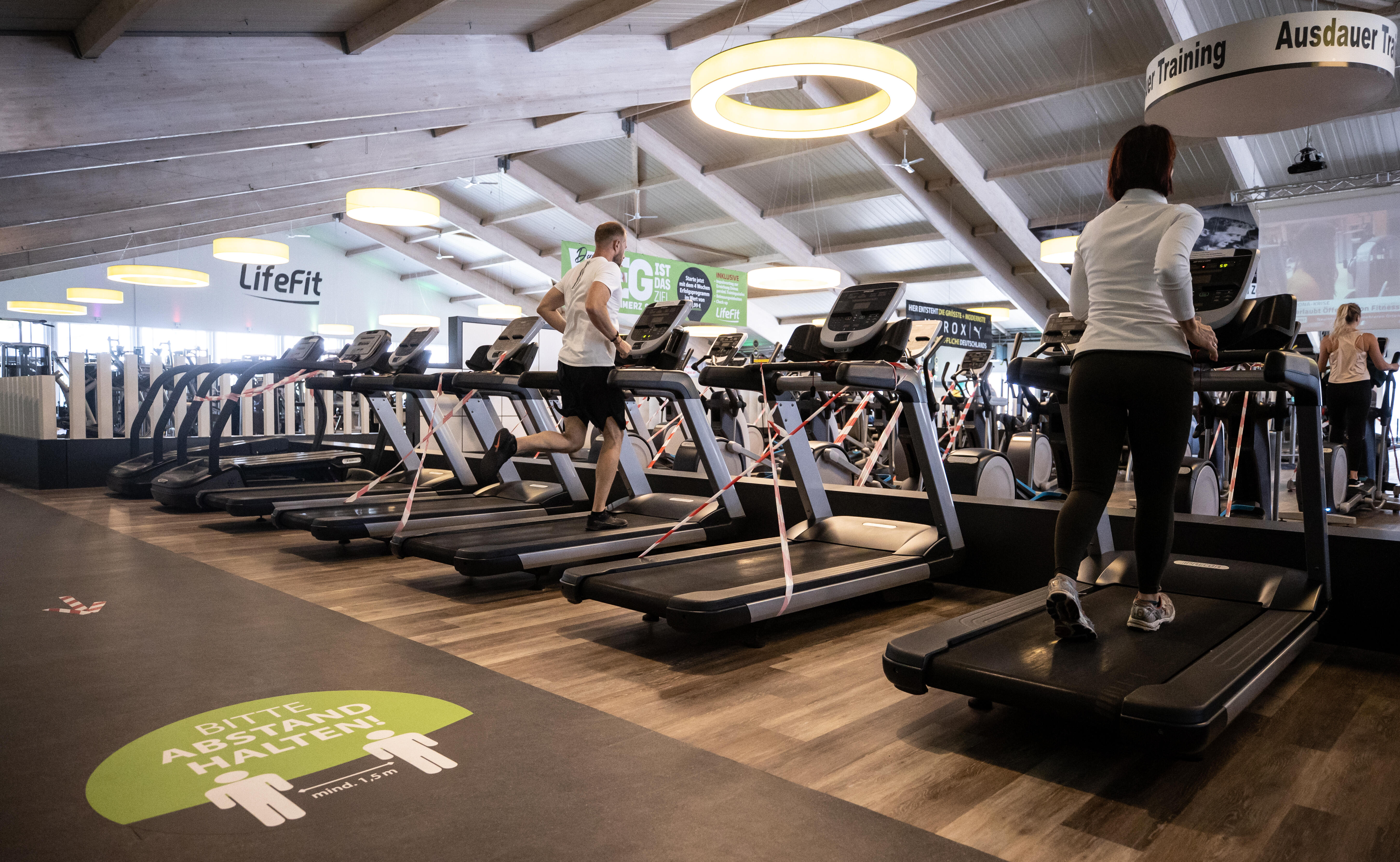 Germany: An altered gym experience