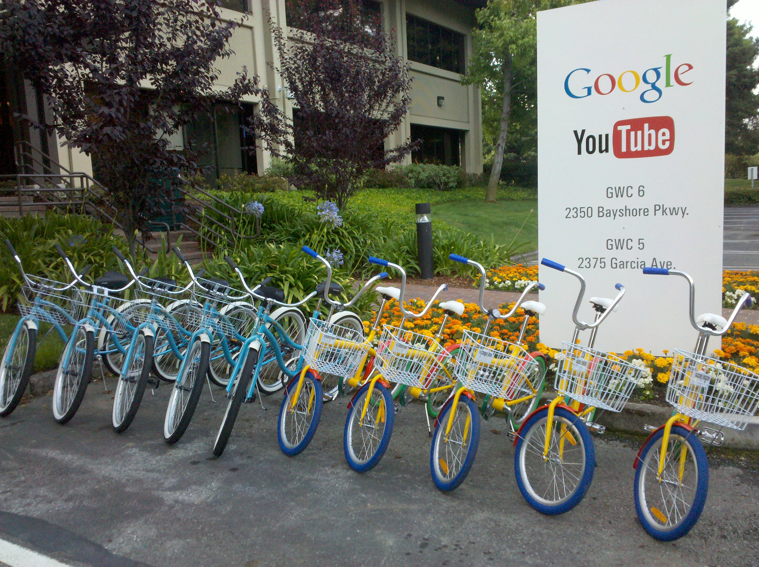 The first GBikes