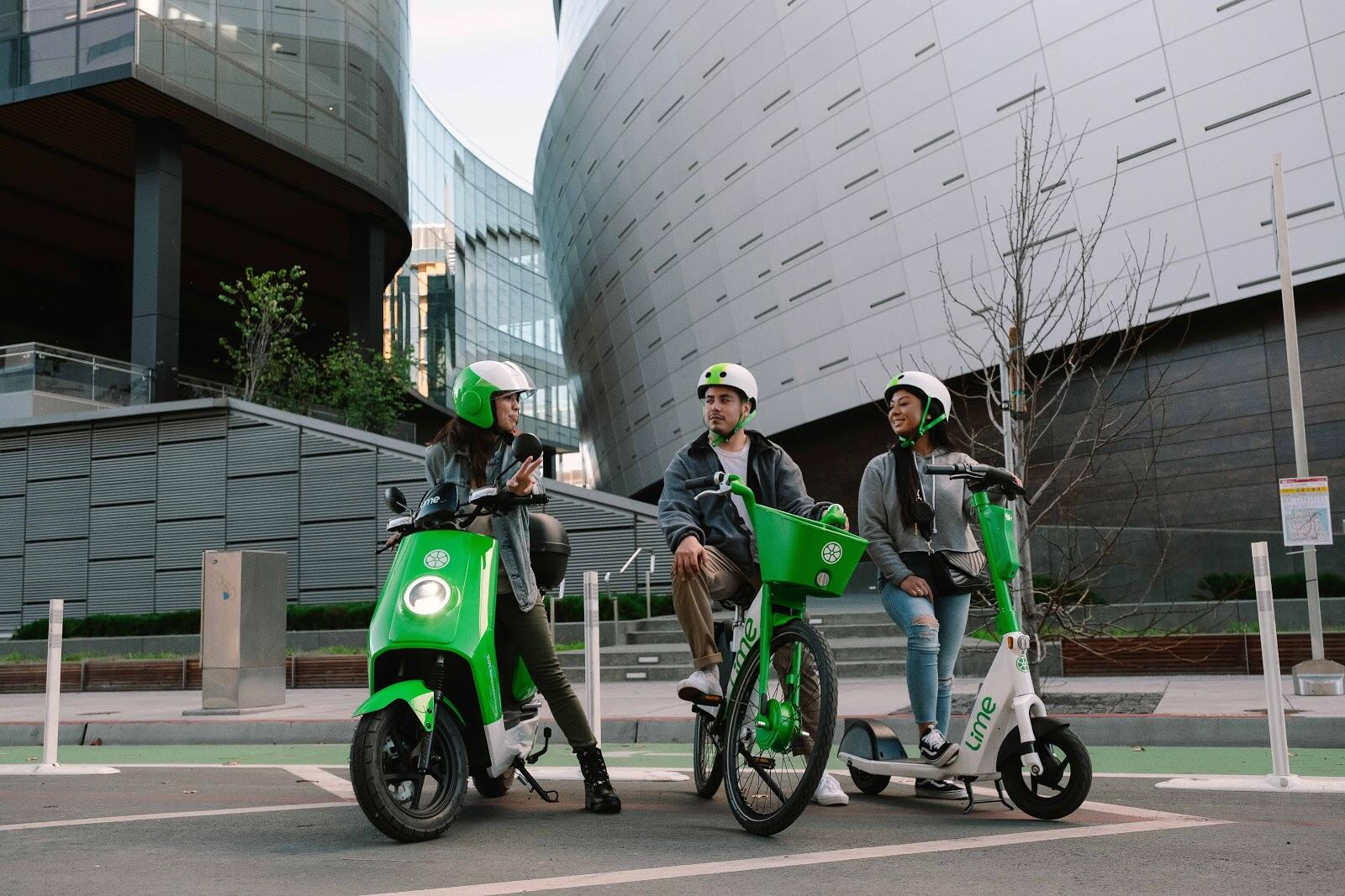lime-moped