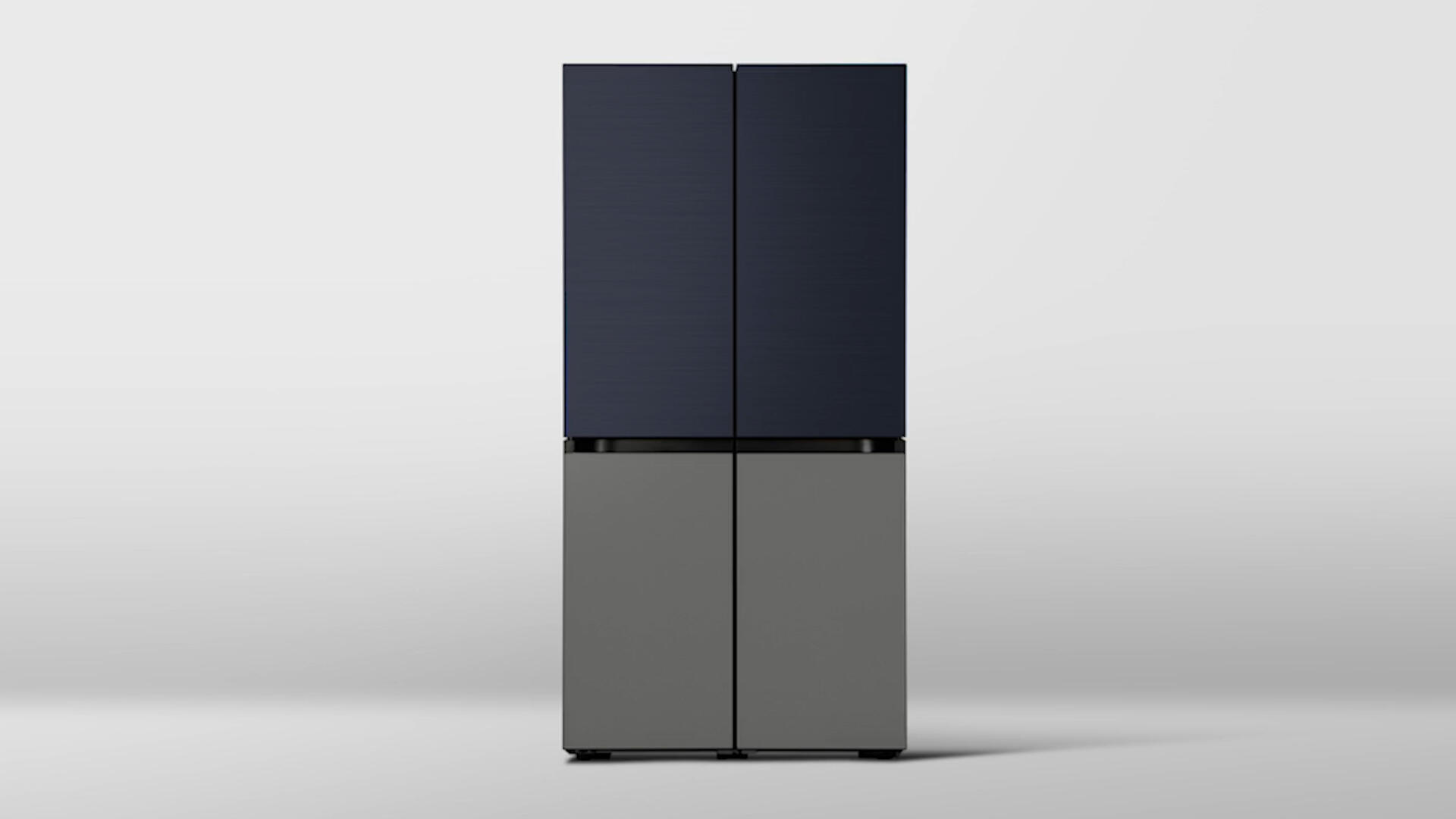 Video: Samsung's Bespoke fridges bring new colors into the kitchen