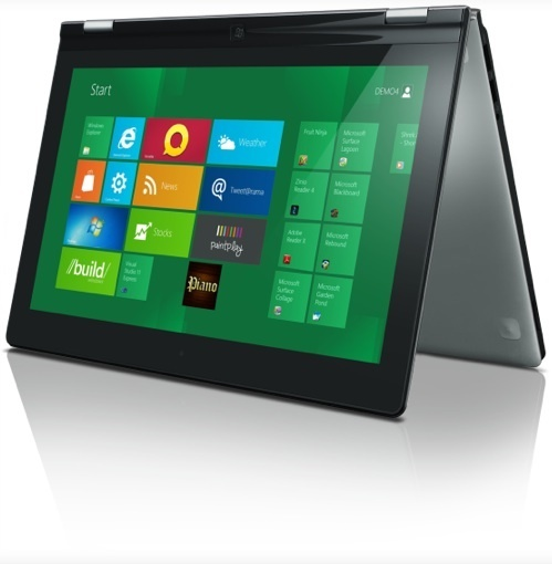 Devices like the Lenovo Yoga hybrid could run on Intel, AMD, Nvidia, Qualcomm, or Texas Instruments chips.