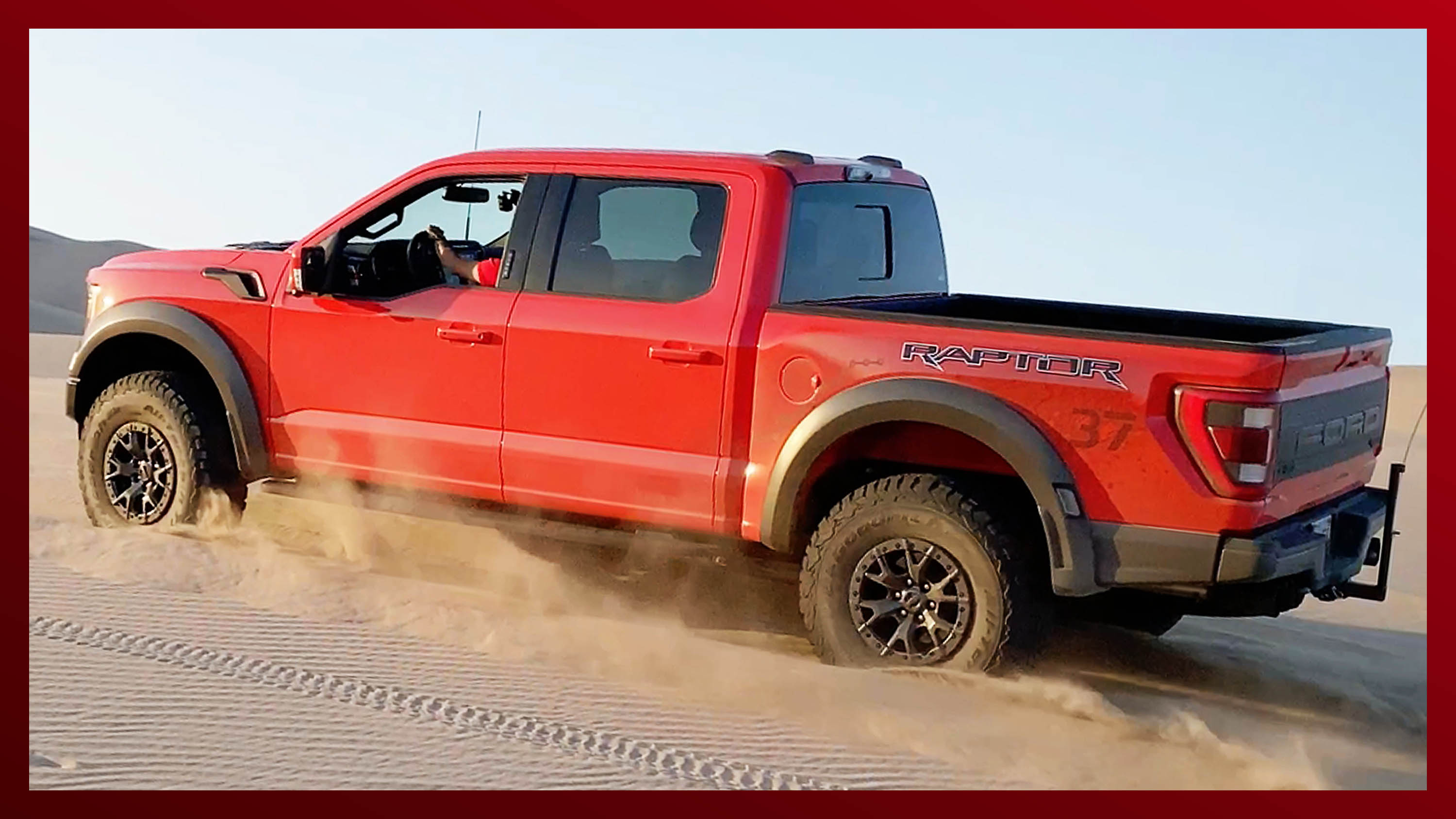 Video: 2021 Ford F-150 Raptor is a desert king