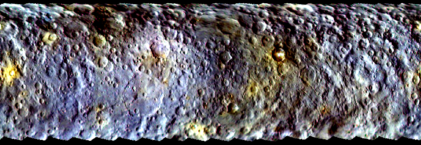 Ceres map