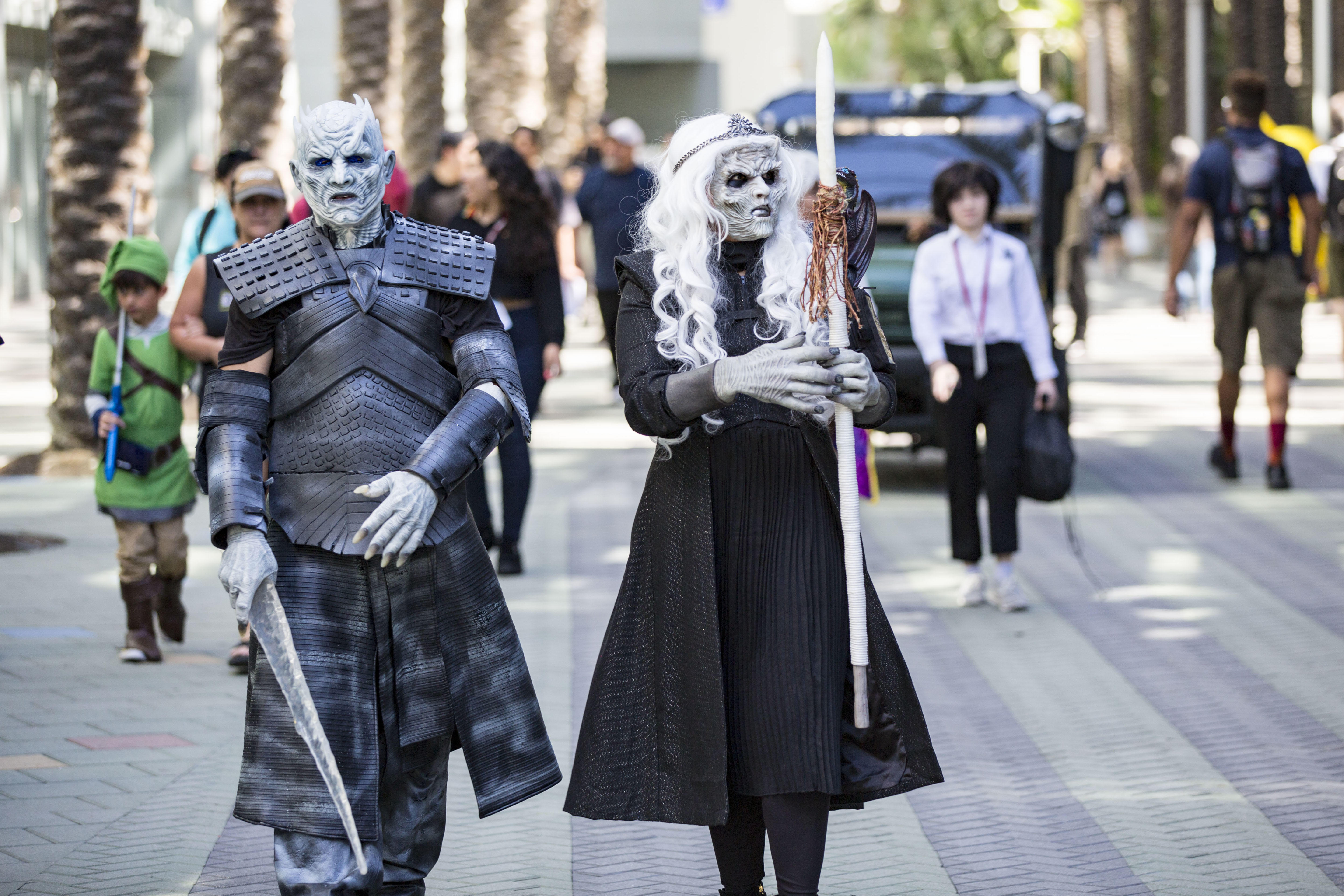 Of course there's GoT cosplay at WonderCon