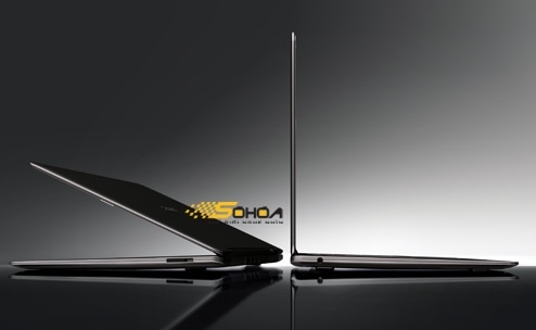 Rumored Acer Aspire as depicted on Vietnam-based Sohoa Web site.