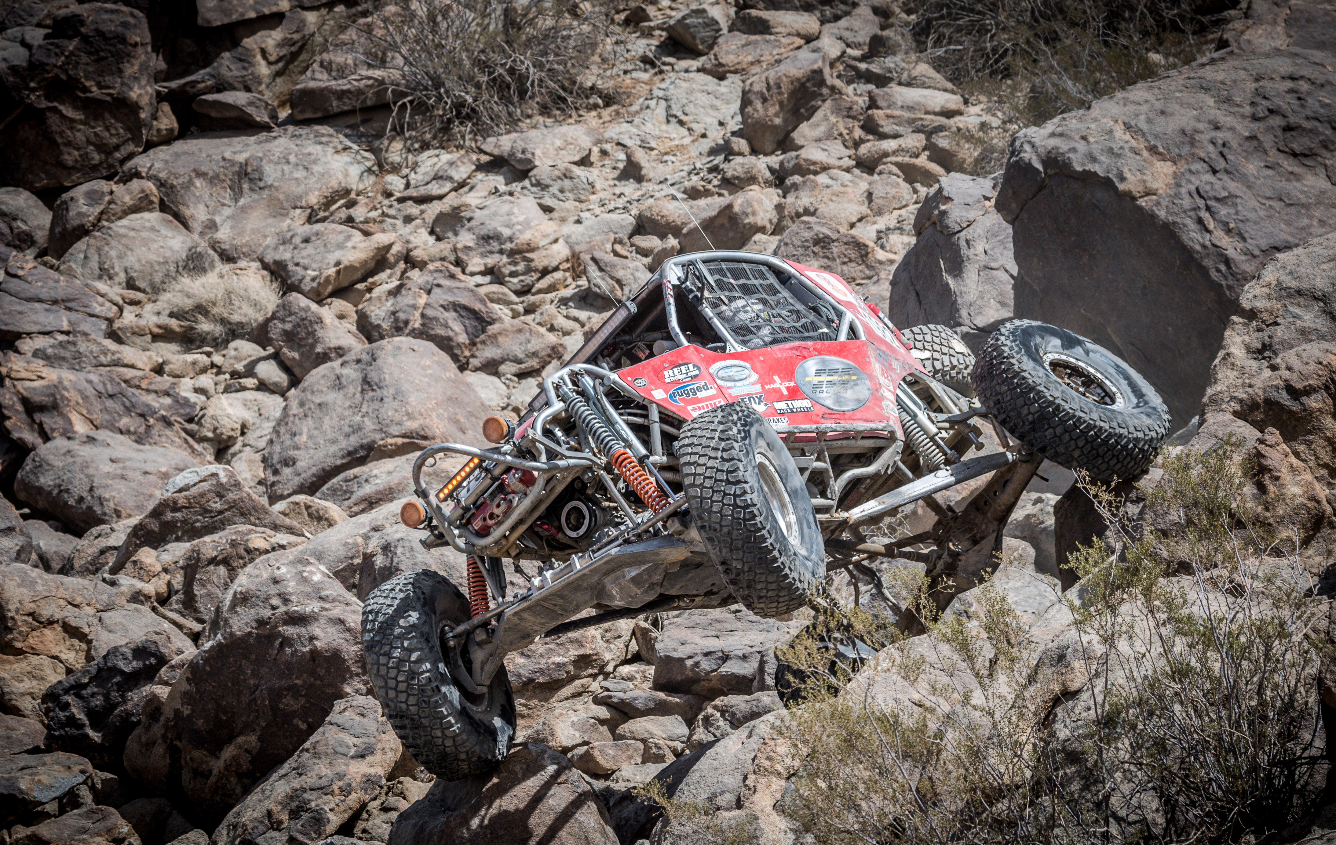 King of the Hammers buggy