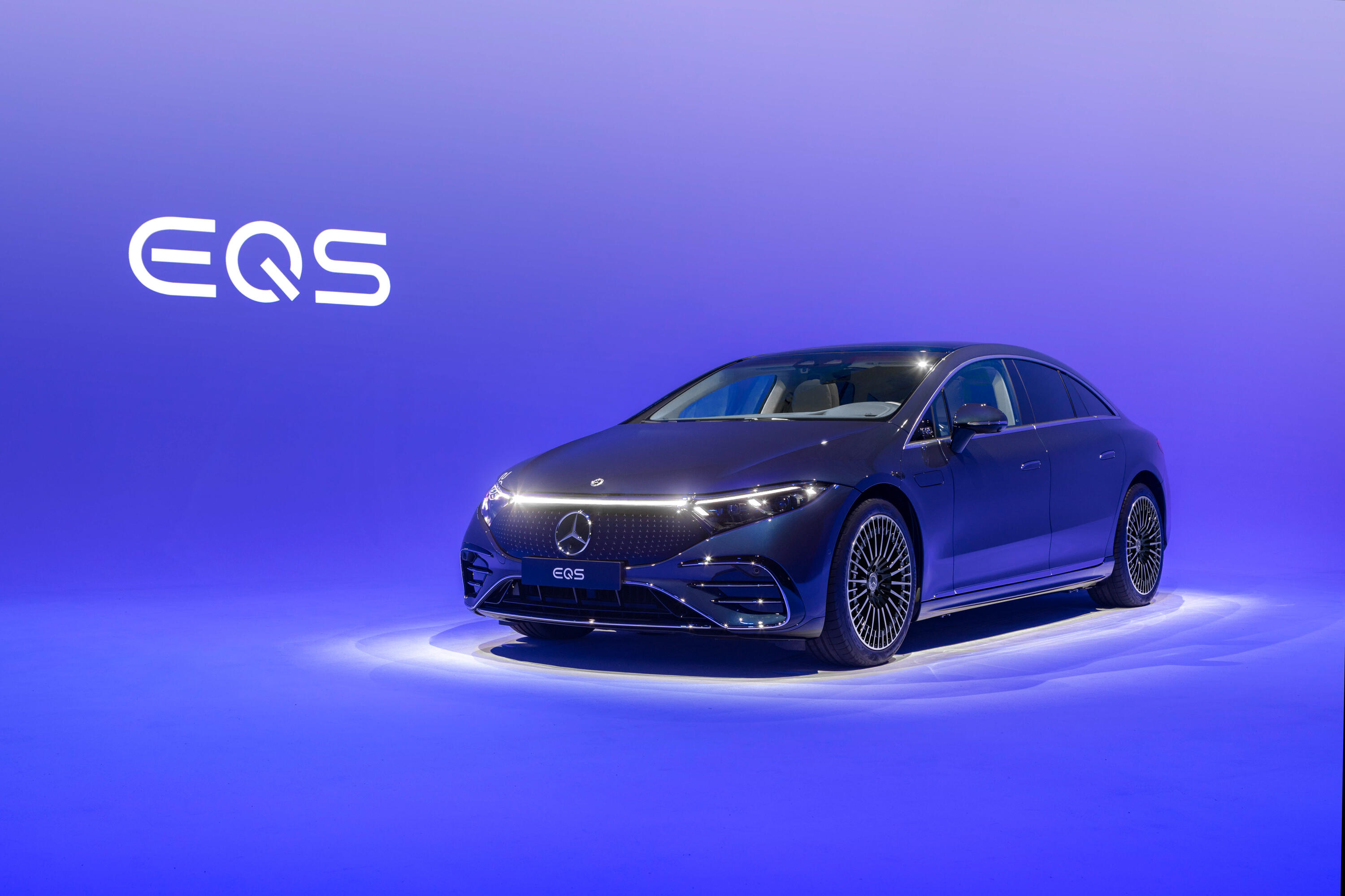 2022 Mercedes-Benz EQS Edition One - electric