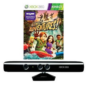 Originally $150, the Kinect Sensor with Kinect Adventures is a steal at $79.95.