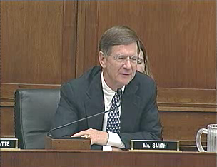 Rep. Lamar Smith, the bill's cosponsor, at a hearing earlier this year
