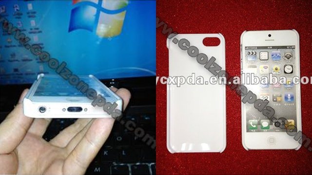 Did a Chinese case manufacturer accidentally reveal the first real photos of an iPhone 5?